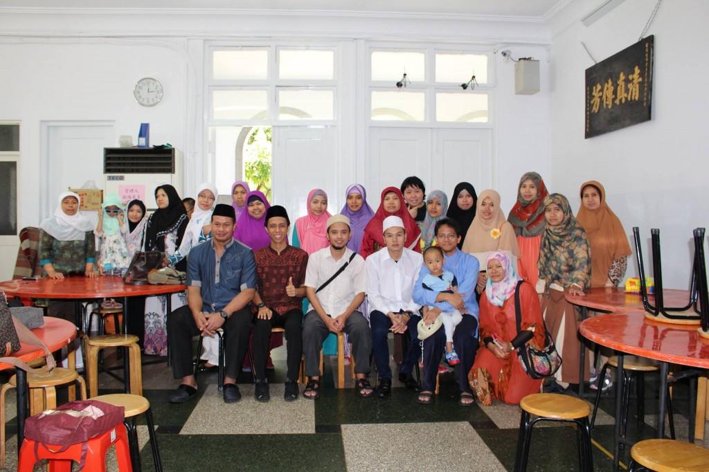 Foto bersama peserta Sanlat Ramadhan