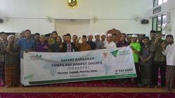 Foto bersama peserta Sanlat Ramadhan dengan da'i Dompet Dhuafa