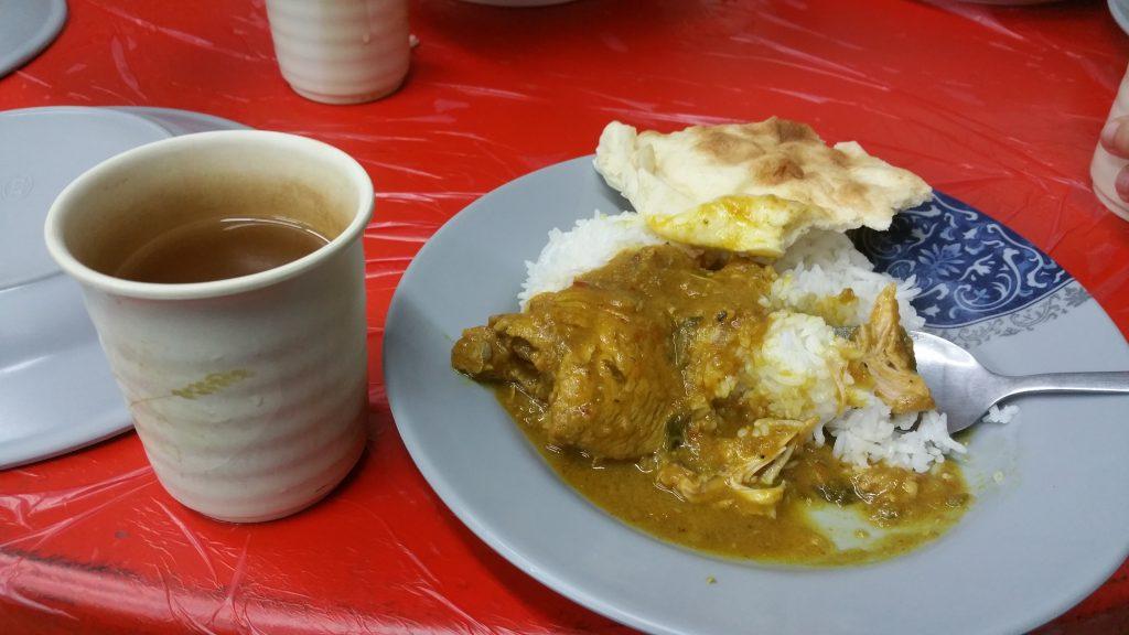 Menu masakan saat sahur bersama di Masjid Besar Taipei