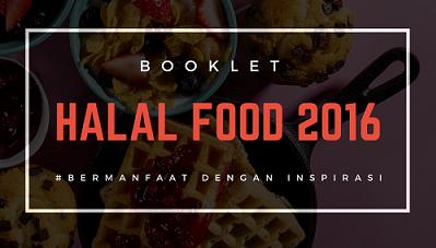 BOOKLET HALAL FOOD